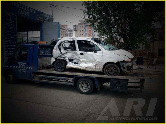 tractari auto avariate - Asistenta Rutiera Iasi