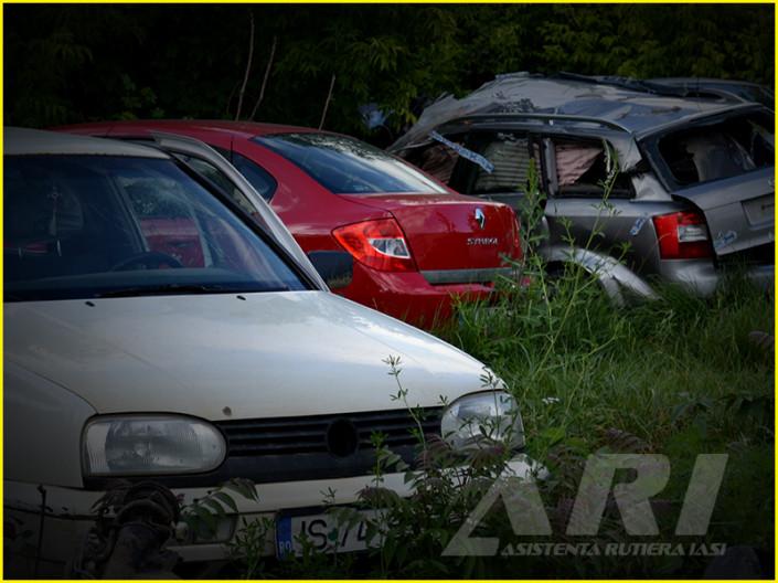 parc auto - Asistenta Rutiera iasi
